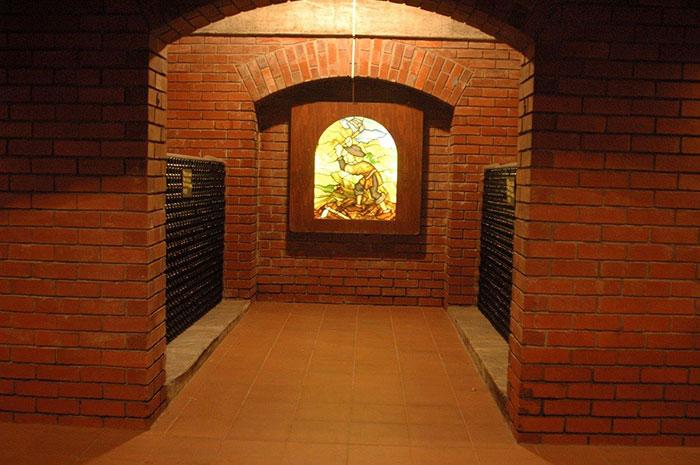 Hartenberg's underground cellar