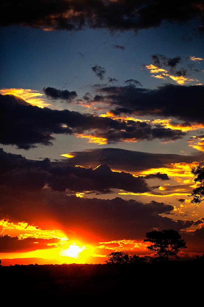 Cloudy Sunset Rich Laburn