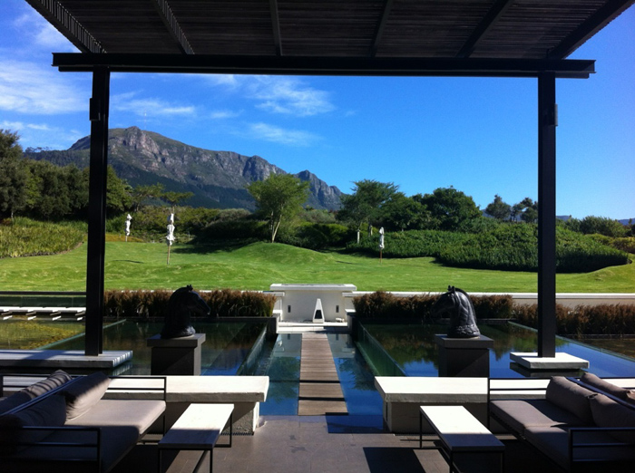 A summers day at Steenberg resturant