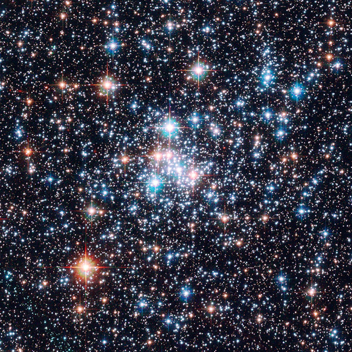 Magellanic Gemstones in the Southern Sky. Image Courtesy of: European Space Agency & NASA