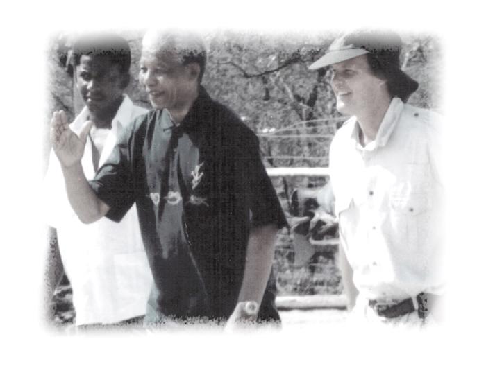 Mandela-visits