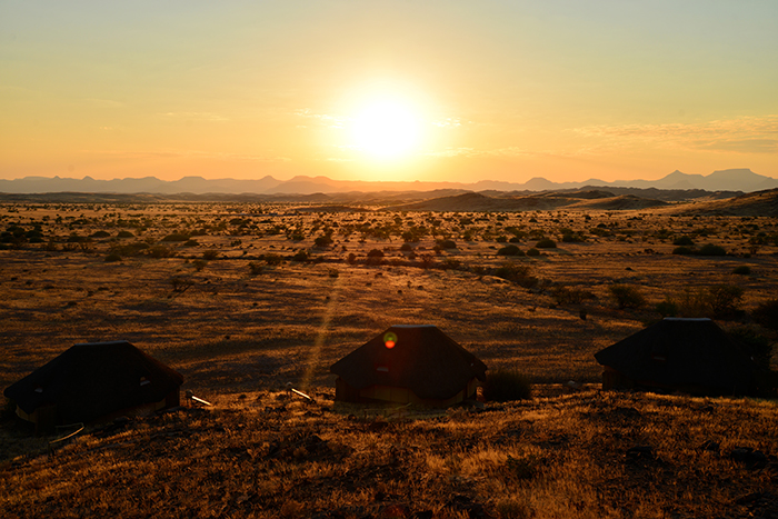 Final morning at Doro Naras rest camp, where the epic journey ends.