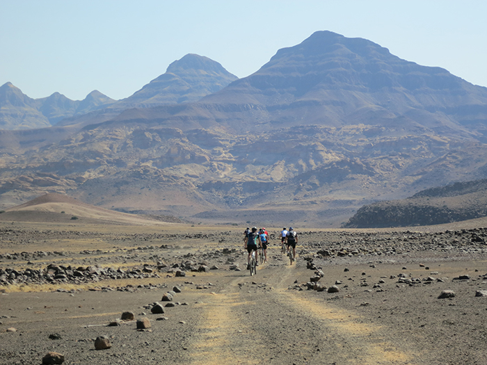 Long days in the saddle seem short when you silently glide through the vast desert scenery.