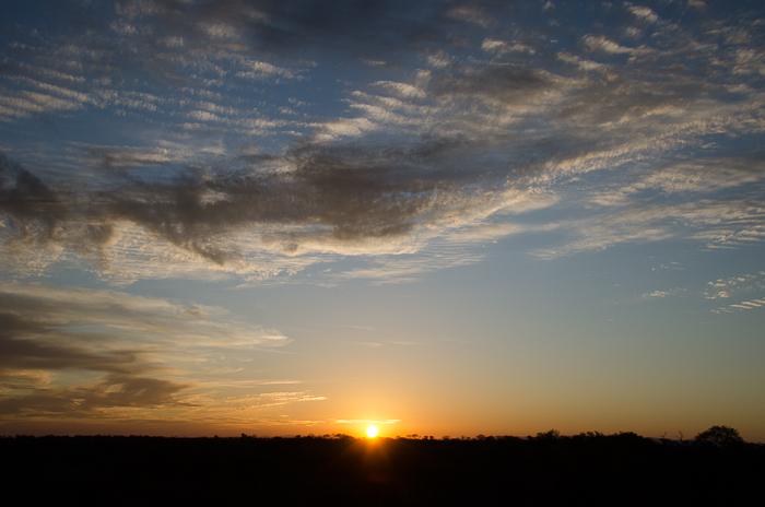 Sunset. KP