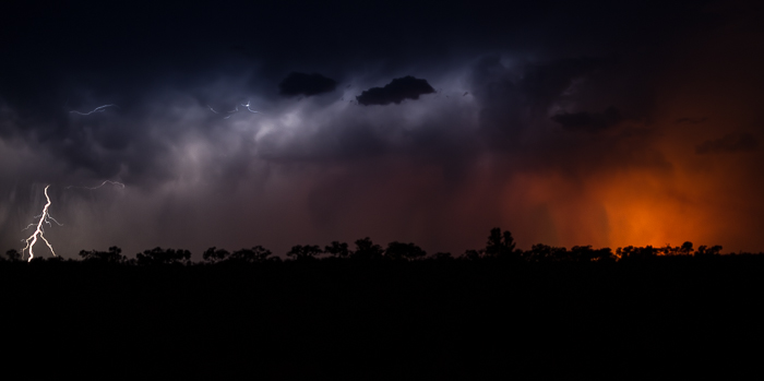 Thuderstorm in the bush