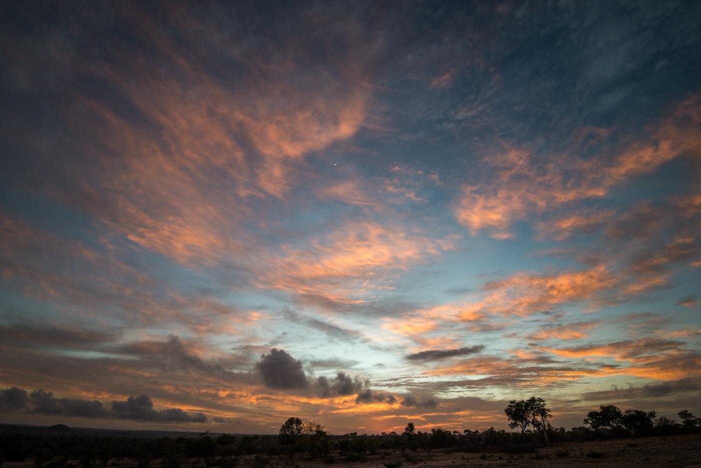 sunrise, clouds, SC