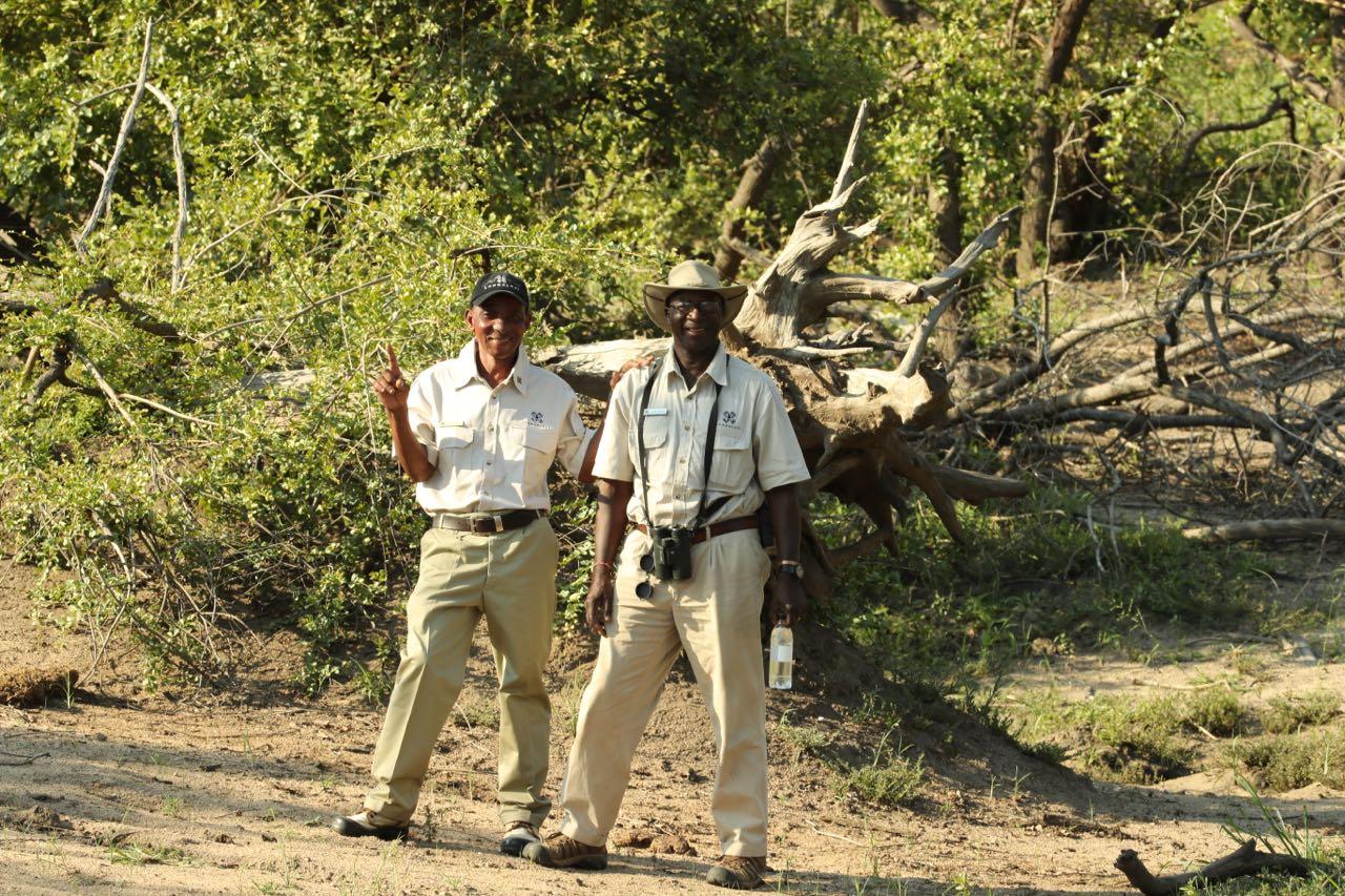 Richard Siwela and Elmon Mhlongo. Photo by Ted Swindon