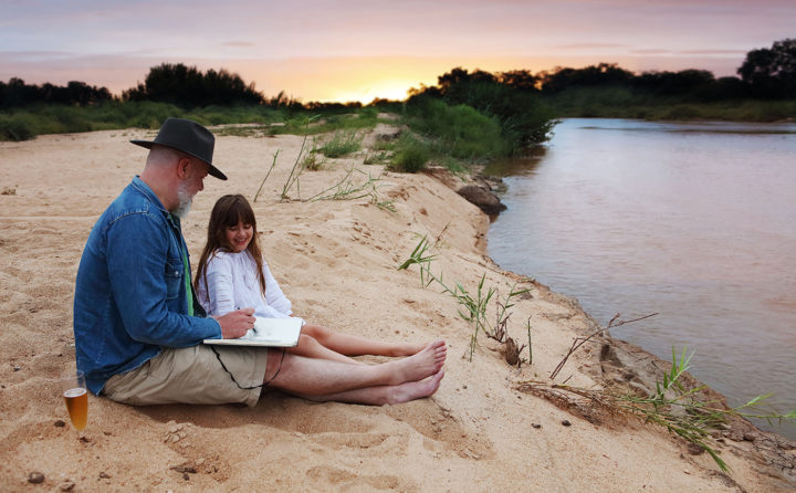 sand river, elsa young