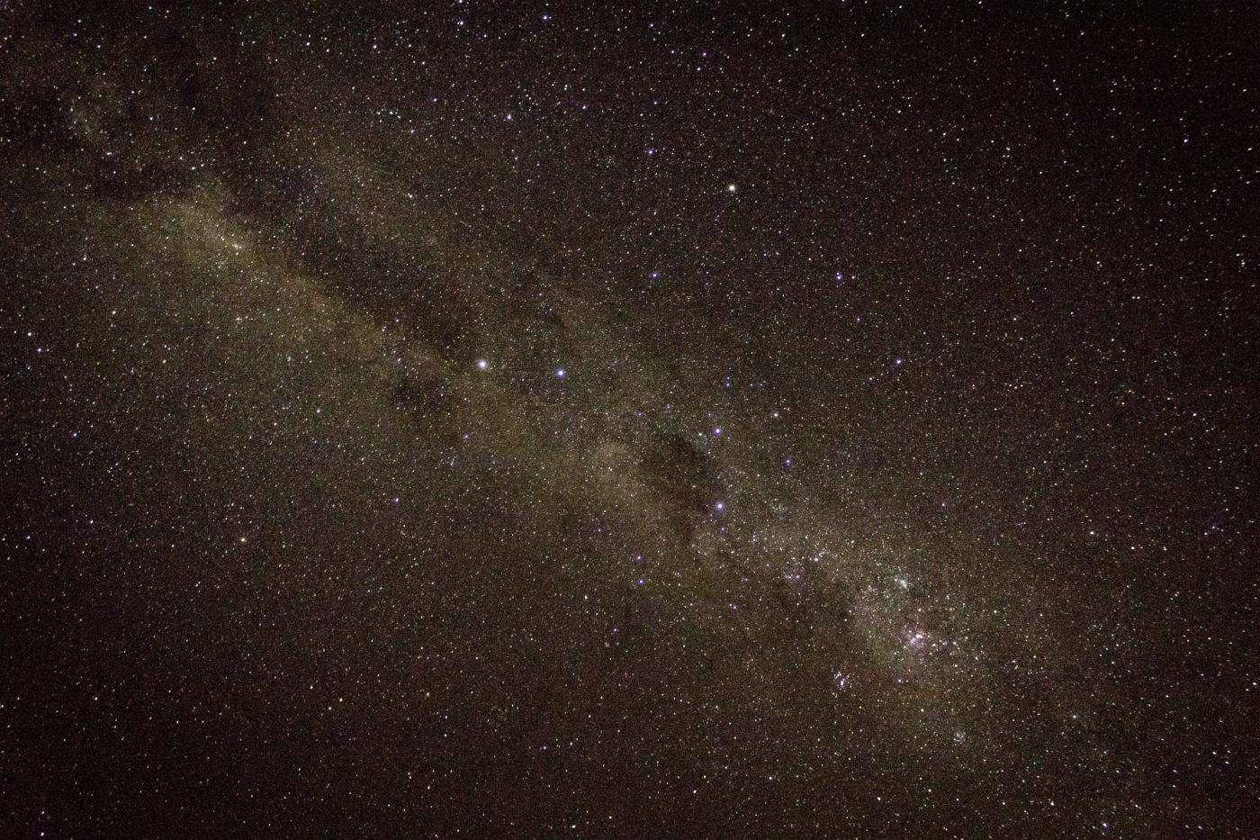 Milky way, stars, AJ 2017