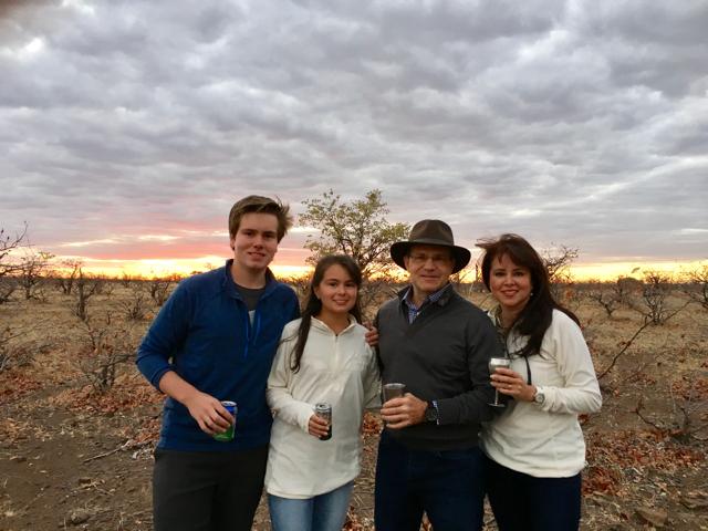 Julien Family at Londolozi