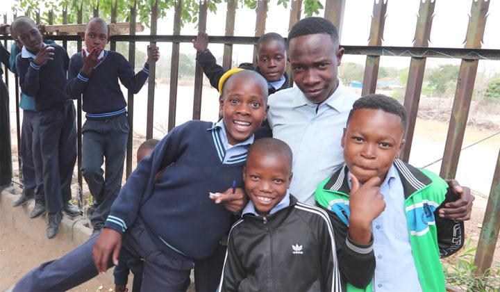 School children in Mpumalanga