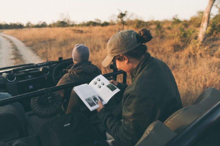 Tyler Wright on safari at Londolozi - Corey Wilson