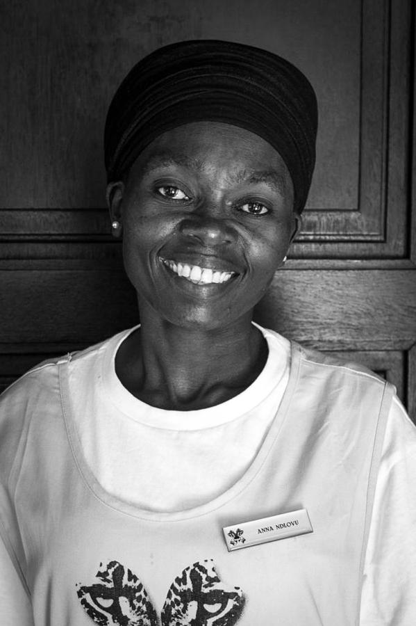 Anna Ndlovu, Granite Camp, housekeeping, AA