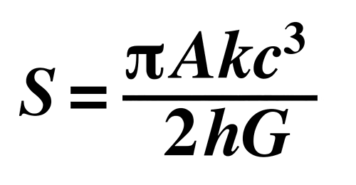 Hawking Equation