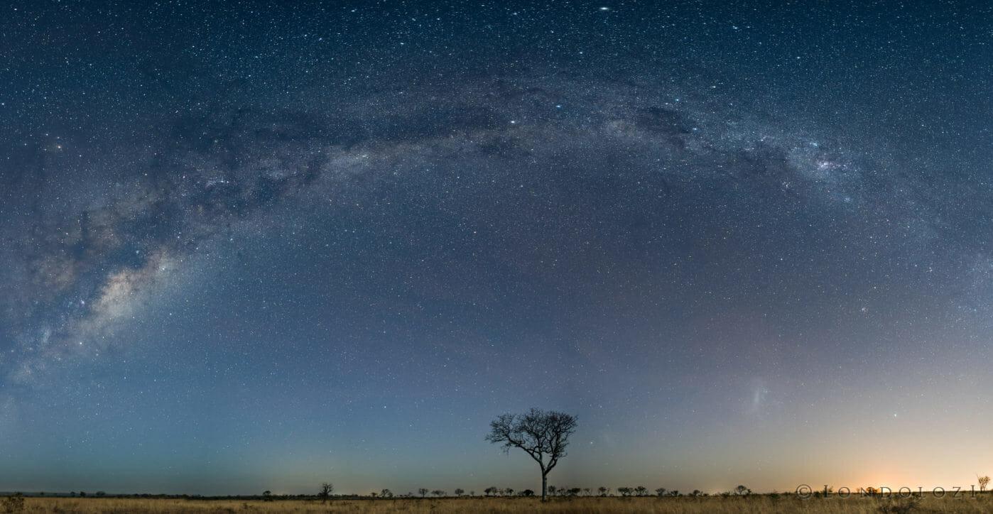 Panoramic, Milky way, Stars - AJ 2018