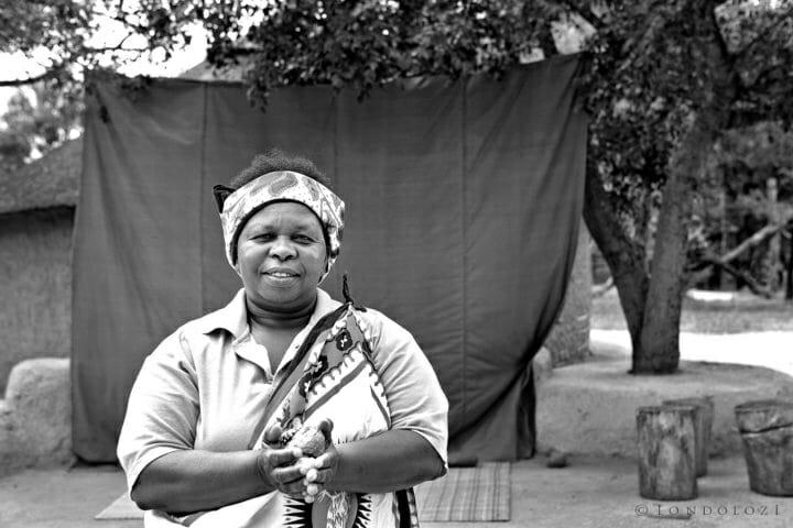 Linah - Lina Lamula, Village Mother.