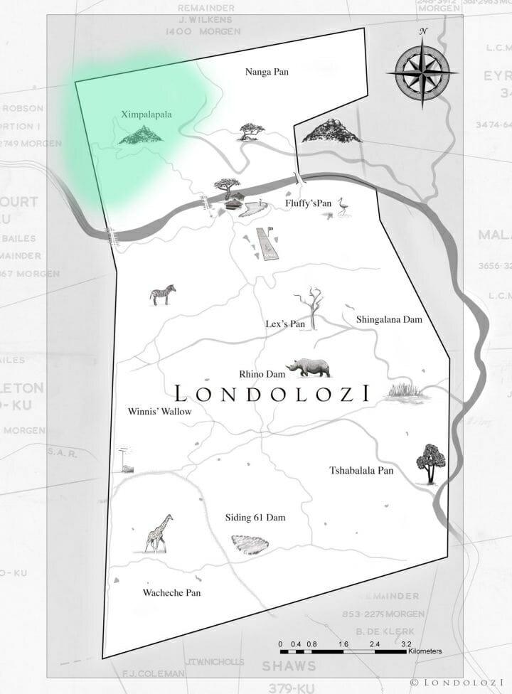 Ingrid Dam Map