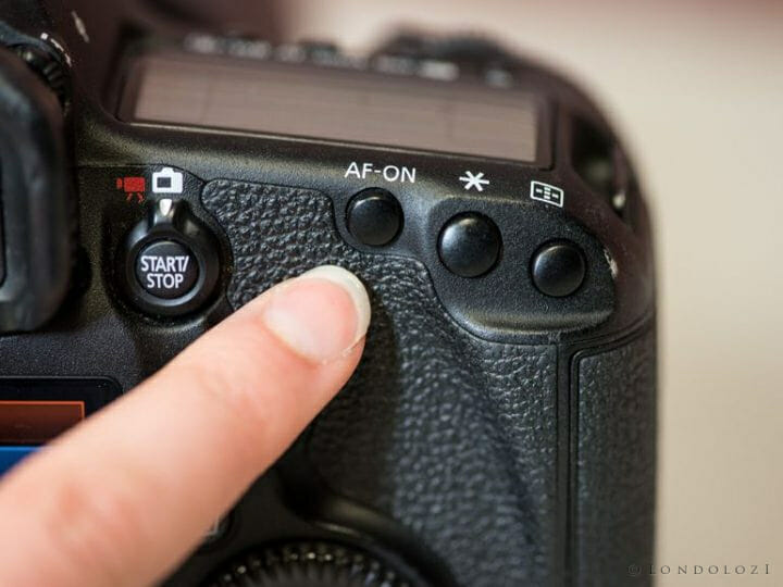 Camera Back Button
