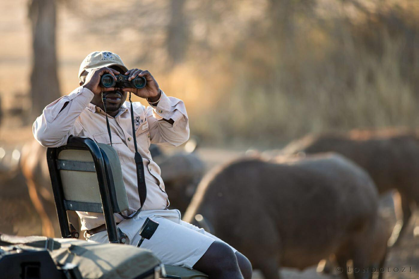 Ray Mabelane Tracker Binocs