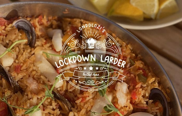 Lockdown Larder Paella