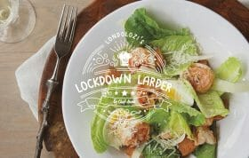 Lockdown Larder Salad