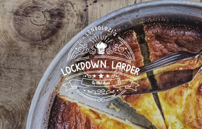 Lockdown Larder Cheese Cake