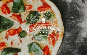 Lockdown Larder Pizza