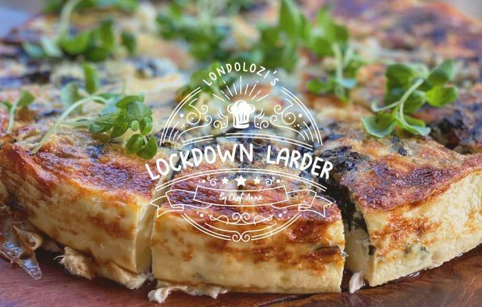 Lockdown Larder Fritatta
