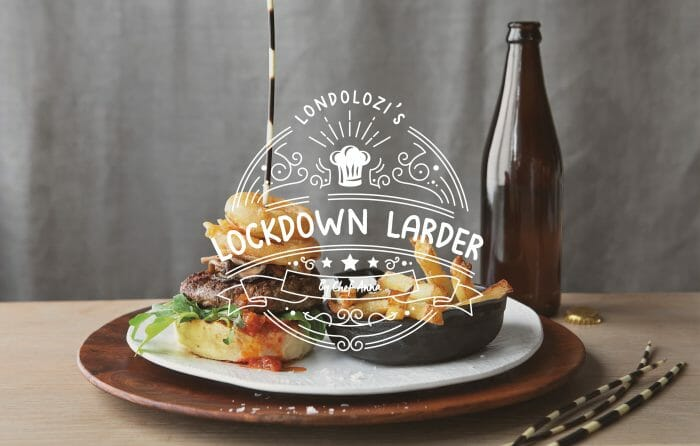 Lockdown Larder Burger