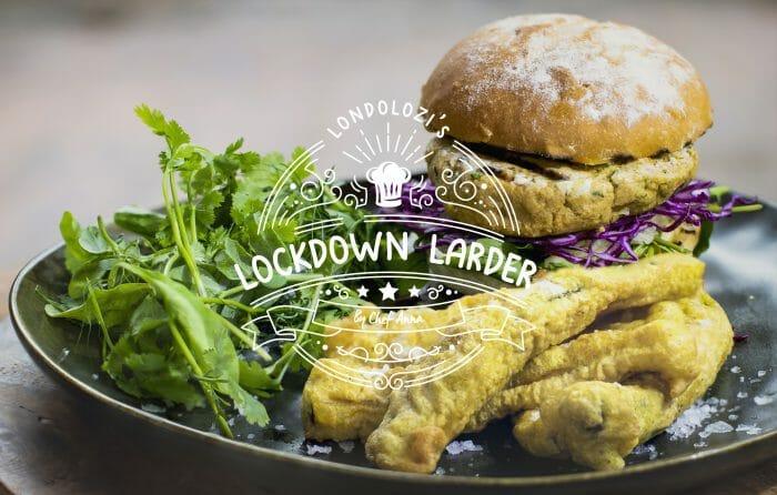 Lockdown Larder Vegan Burger