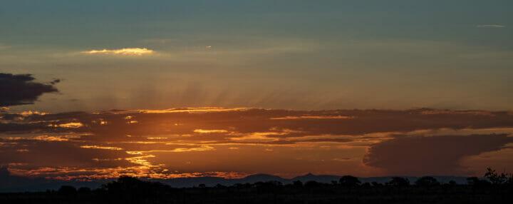 Cloudy Sunset Drakensberg