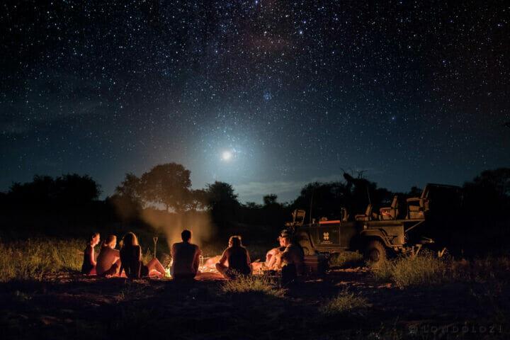 Campfire Stargazing Alex Jordan