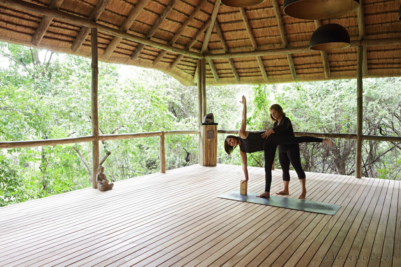 Londolozi Healing House Yoga 1