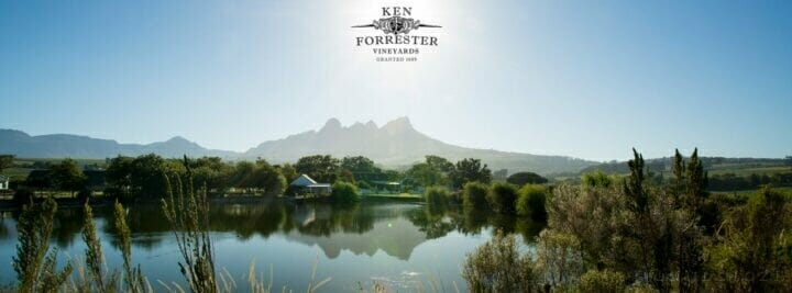 A Panoramic Photo Ken Forester Wine