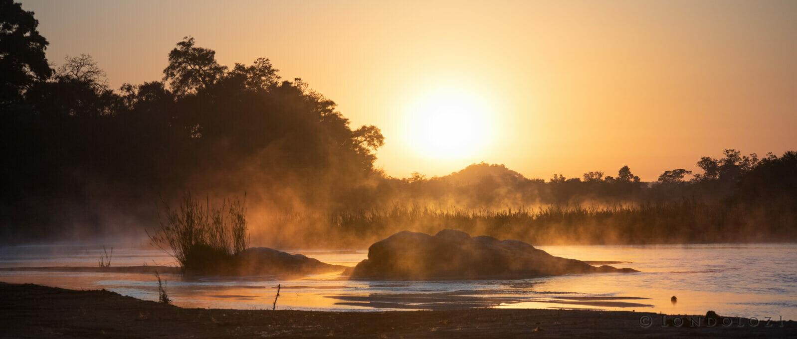Sunrise Sand River