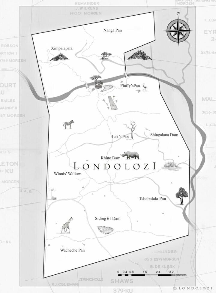 Londolozi Map Poi