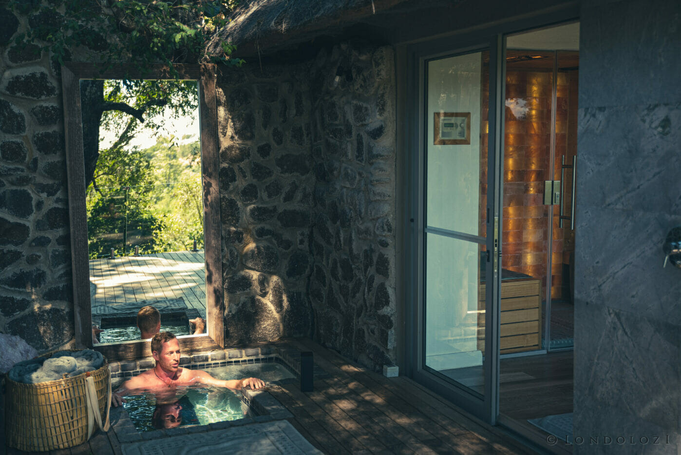 Londolozi Healing House Cold Plunge Freeze Pool A Ritchie 9943