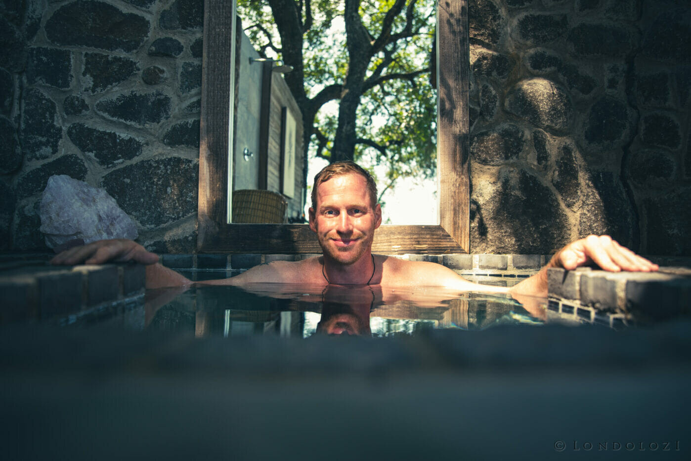 Londolozi Healing House Cold Plunge Freeze Pool A Ritchie 9928