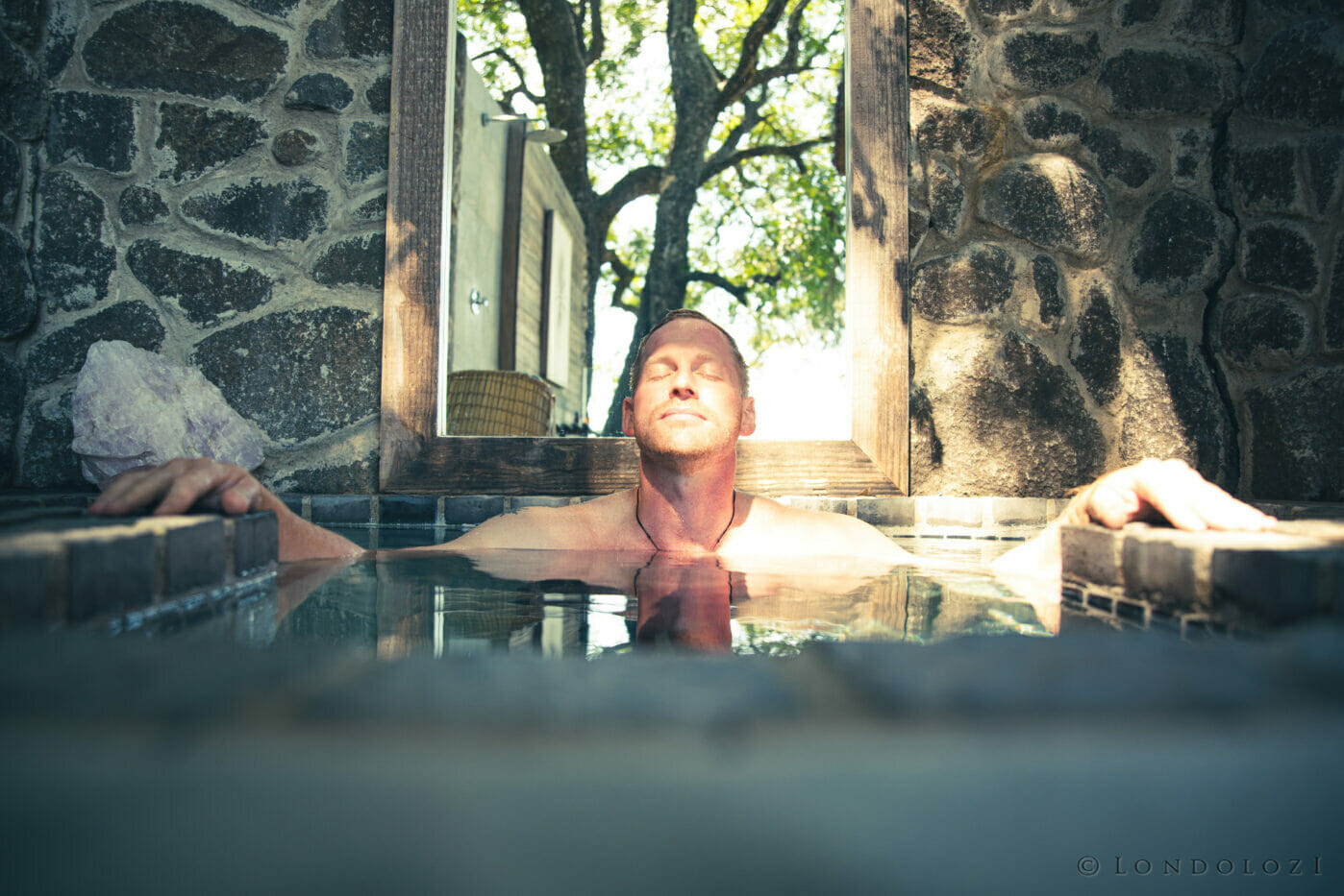 Londolozi Healing House Cold Plunge Freeze Pool A Ritchie 9917