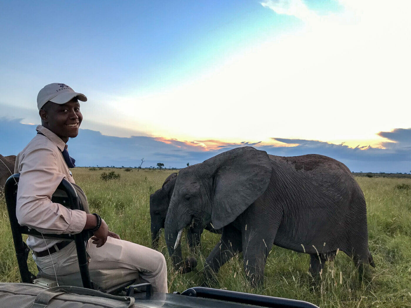 Trevor With Elephant (1)