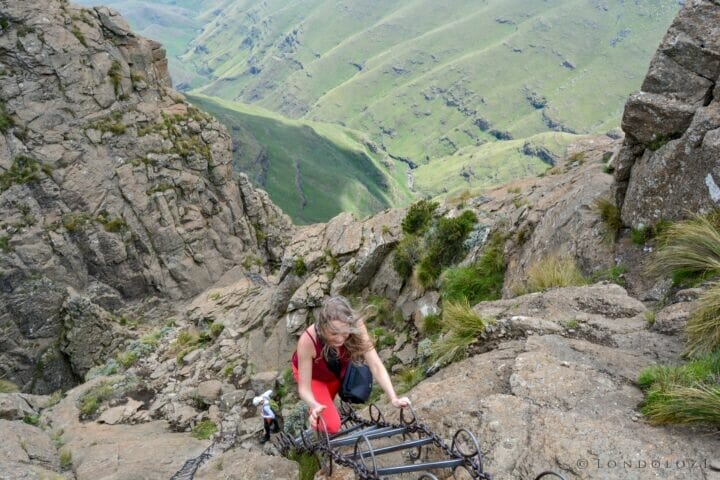 Hiking the Drakensburg in South Africa
