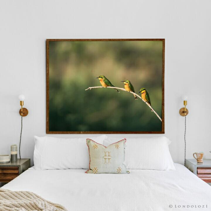 Fine Art Mock-up Bee Eaters