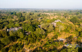 Londolozi Camps Aerial Sand River
