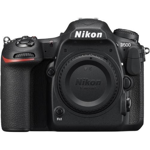 Nikon D500 Front View