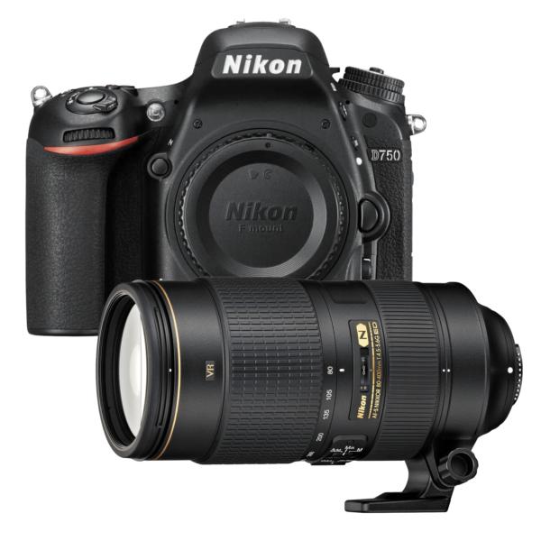Nikon D750 80 400mm Lens camera kit